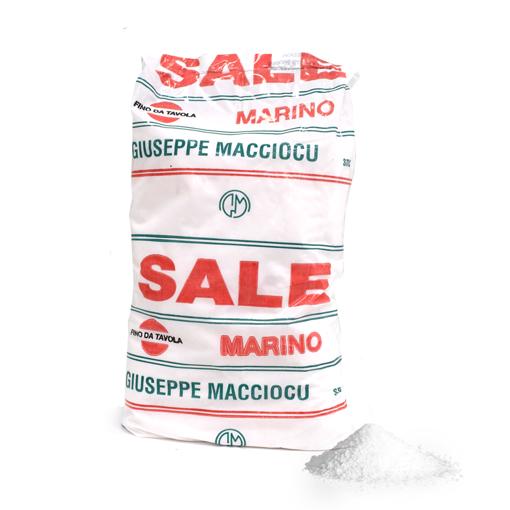 Picture of FINE SALT OF SARDINIA kg. 1 - GIUSEPPE MACCIOCU