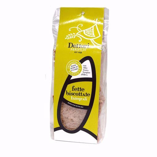 Picture of HOMEMADE WHOLE-GRAIN TOASTS  gr. 250 - FLUSSIO/PANIFICIO DETTORI