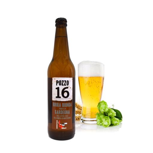 Image sur Bière Blonde Sarde Crue Artisanal Pozzo 16
