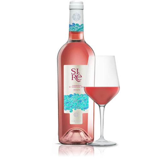 Picture of SIRE'- rosé Cannonau wine DOC cl 75-  TENUTE GREGU
