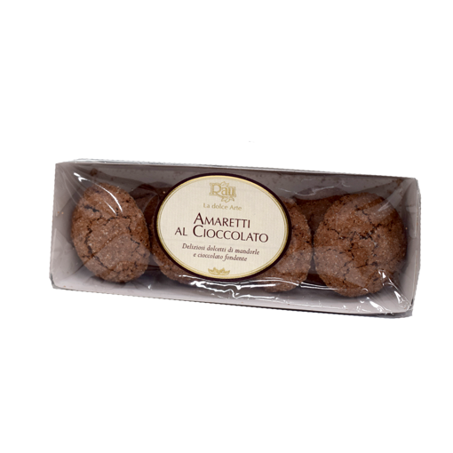 Picture of CHOCOLATE AMARETT I- TRADITIONAL SOFT SWEETS WITH ALMOND DOUGH  gr. 110  - RAU SARDO&DOLCE