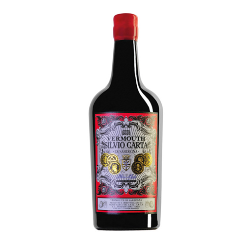 Picture of RED VERMOUTH OF VERNACCIA- TOP OF RANGE cl.75- SIVIO CARTA