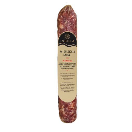 Picture of CYLINDRICAL IRGOLI SAUSAGE gr. 420 -  INSULA