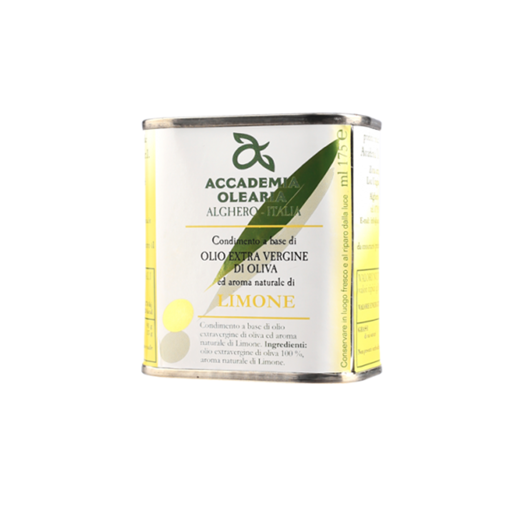 Picture of LEMON FLAVORED OIL - can cl. 175 - ACCADEMIA OLEARIA