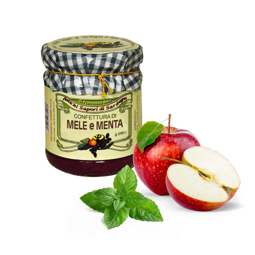 Picture of APPLE AND MINT JAM gr. 250 - AZIENDA AGRICOLA IBBA