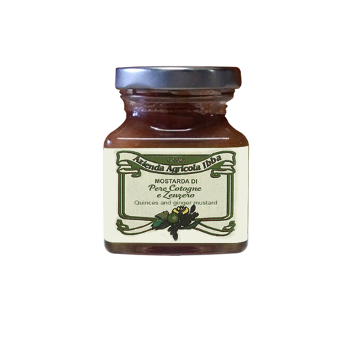Picture of QUINCE AND GINGER MUSTARD gr. 100 - AZIENDA AGRICOLA IBBA