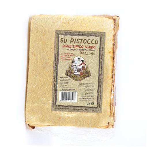 """Picture of TRADITIONAL """"BISTOCCU"""" BREAD gr. 500 - FONNI/IL VECCHIO FORNO"""