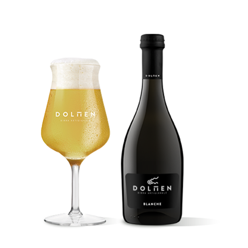 Picture of BLANCHE - SARDINIAN BLONDE BEER  cl. 50  - DOLMEN