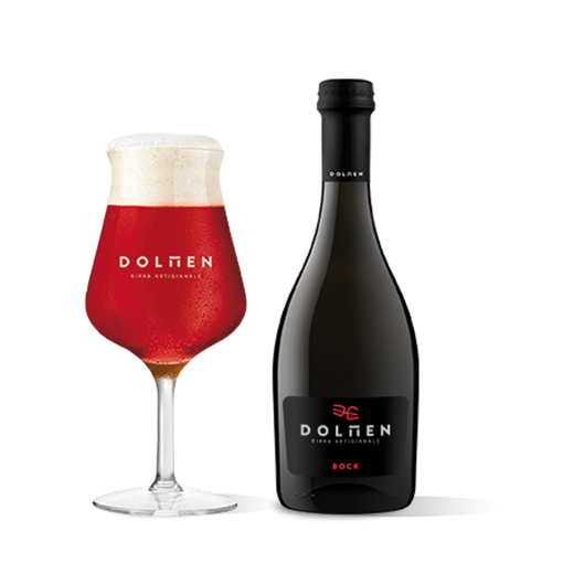 Picture of BOCK- SARDINIAN ARTISANAL RED  BEER  cl. 50 -DOLMEN