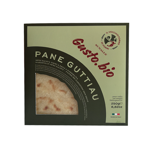 """Picture of """"GUTTIAU"""" BREAD - ORGANIC LINE """"GustoBio"""" gr. 250 -  IL VECCHIO FORNO"""