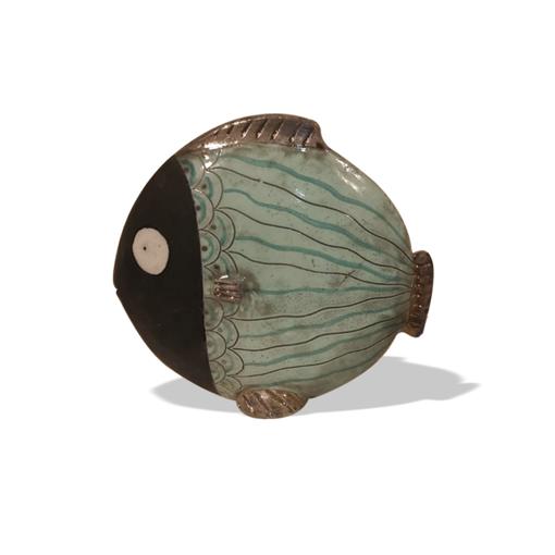 Picture of Pesce in ceramica Raku MEDIUM