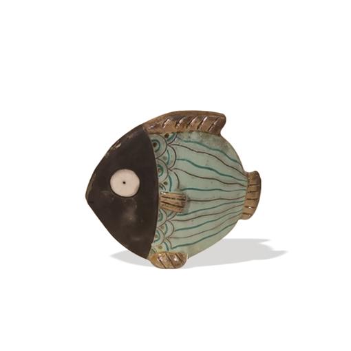 Image sur Pesce in ceramica Raku SMALL