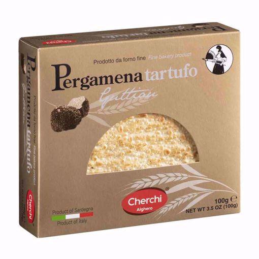 """Picture of PERGAMENA OF  """"GUTTIAU"""" BREAD WITH TRUFFLE gr. 100 - CHERCHI"""