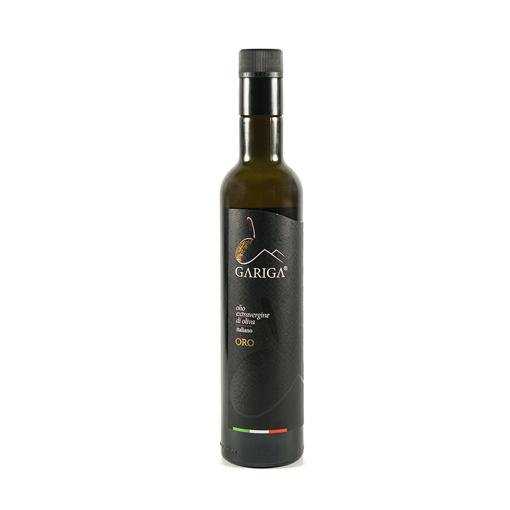 Picture of GARIGA GOLD EVO OIL - golden bottle cl. 50 - GARIGA