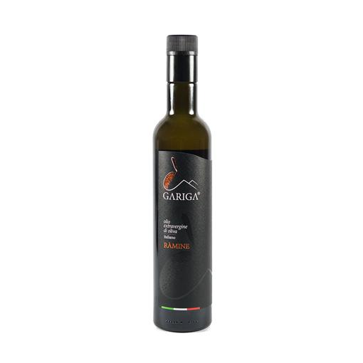"Picture of GARIGA ""RAMINE"" MONOCULTIVAR NERO DI OLIENA - doric bottle cl. 50- GARICA"