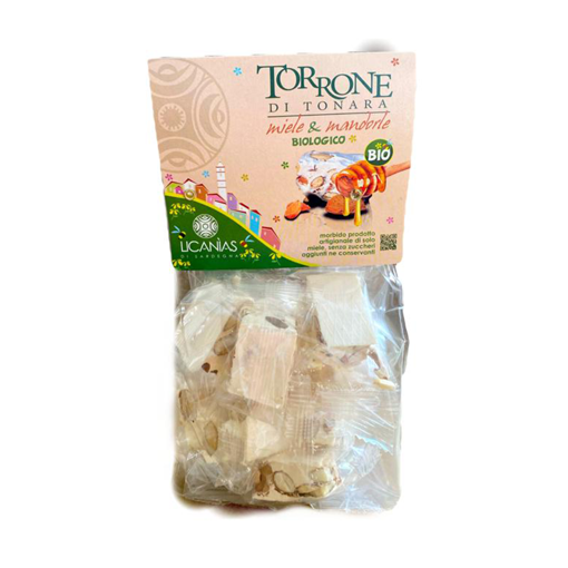 Picture of TORRONCINI DI TONARA BIOLOGICO MIELE E MANDORLE gr. 200 - sacchetto - LICANIAS DI SARDEGNA
