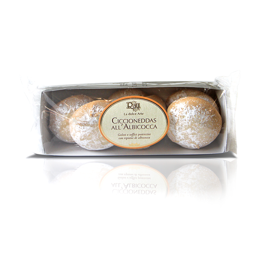 "Picture of ""CICCIONEDDAS"" WITH APRICOT JAM gr. 150 - RAU SARDO & DOLCE"