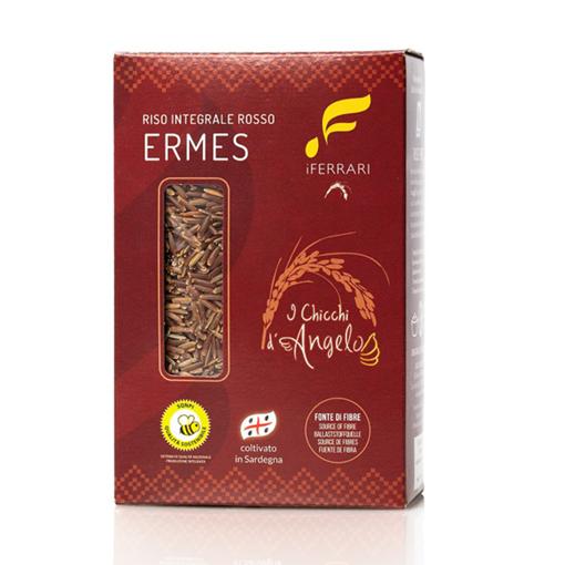 Picture of ERMES RED INTEGRAL RICE gr. 500 - box - I FERRARI